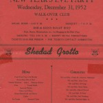Walk-Over Club New Year's Eve Party - 1952