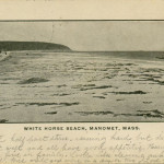 Manomet MA Mass (Plymouth) 1905 White Horse Beach