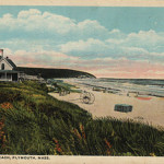 PLYMOUTH MA ~ MANOMET ~ WHITE HORSE BEACH & COTTAGES ~ C. 1916