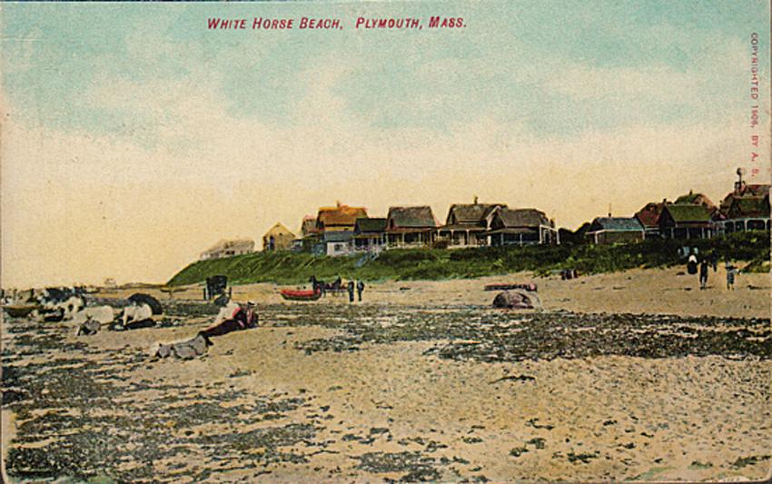 White Horse Beach Plymouth Manomet Massachusetts
