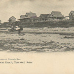 PLYMOUTH MA - MANOMET ~ WHITE HORSE BEACH.~ C.1905