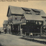 Plymouth MA White Horse Beach Hotel Crescent c1910
