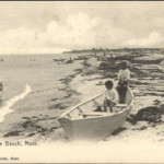 Plymouth MA White Horse Beach c1910