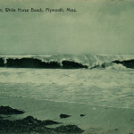 White Horse Beach MA Mass (Plymouth) After the Storm c1910