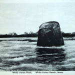 White Horse Rock White Horse Beach Ma 1934