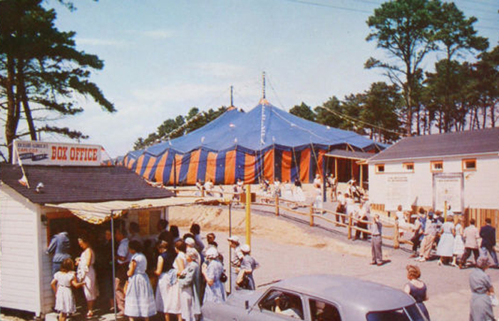 Cape Cod Melody Tent Massachusetts History Preserved